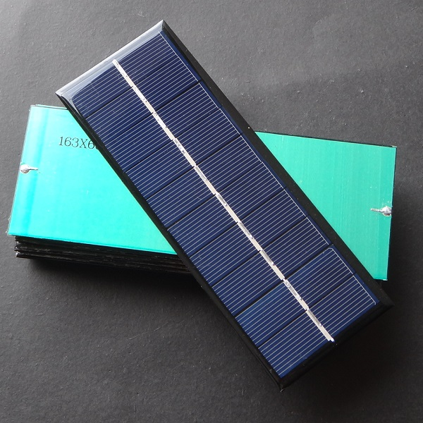 High Quality 1.3W 5V Solar Cell Polycrystalline Solar Panel Solar Module DIY Solar Charger For 3.6V Battery education kits Panel(China (Mainland))