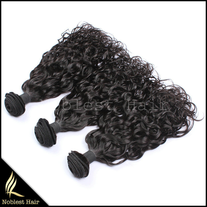 curly 100% human hair extensions natural color natural curl brazilian remy hair weave free shipping<br><br>Aliexpress