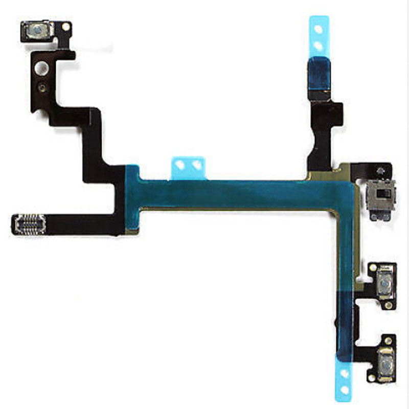 Original Switch Flex Cable (Power Button Volume and Silent Switch Keypad) for iPhone 5(China (Mainland))
