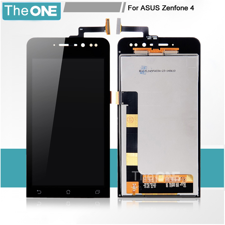 "100% new LCD Screen display+touch sreen Digitizer For 4 "" Asus ZenFone 4 A400CG BLACK free shipping(China (Mainland))"