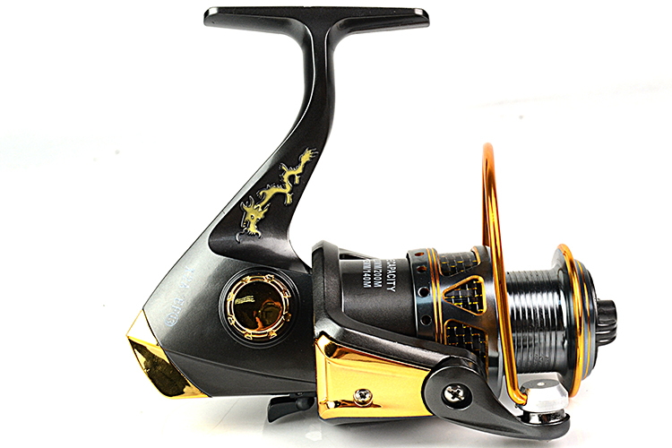 Free shipping Good EF series 12RB 1RB Fishing Reels spinning reel Fishing Tackle metal Front Drag
