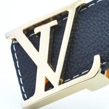 2015 nouvelles ceintures de marque de luxe hommes ceintures en cuir lisse boucle Casual origine Jeans bretelles designer ceintures(China (Mainland))