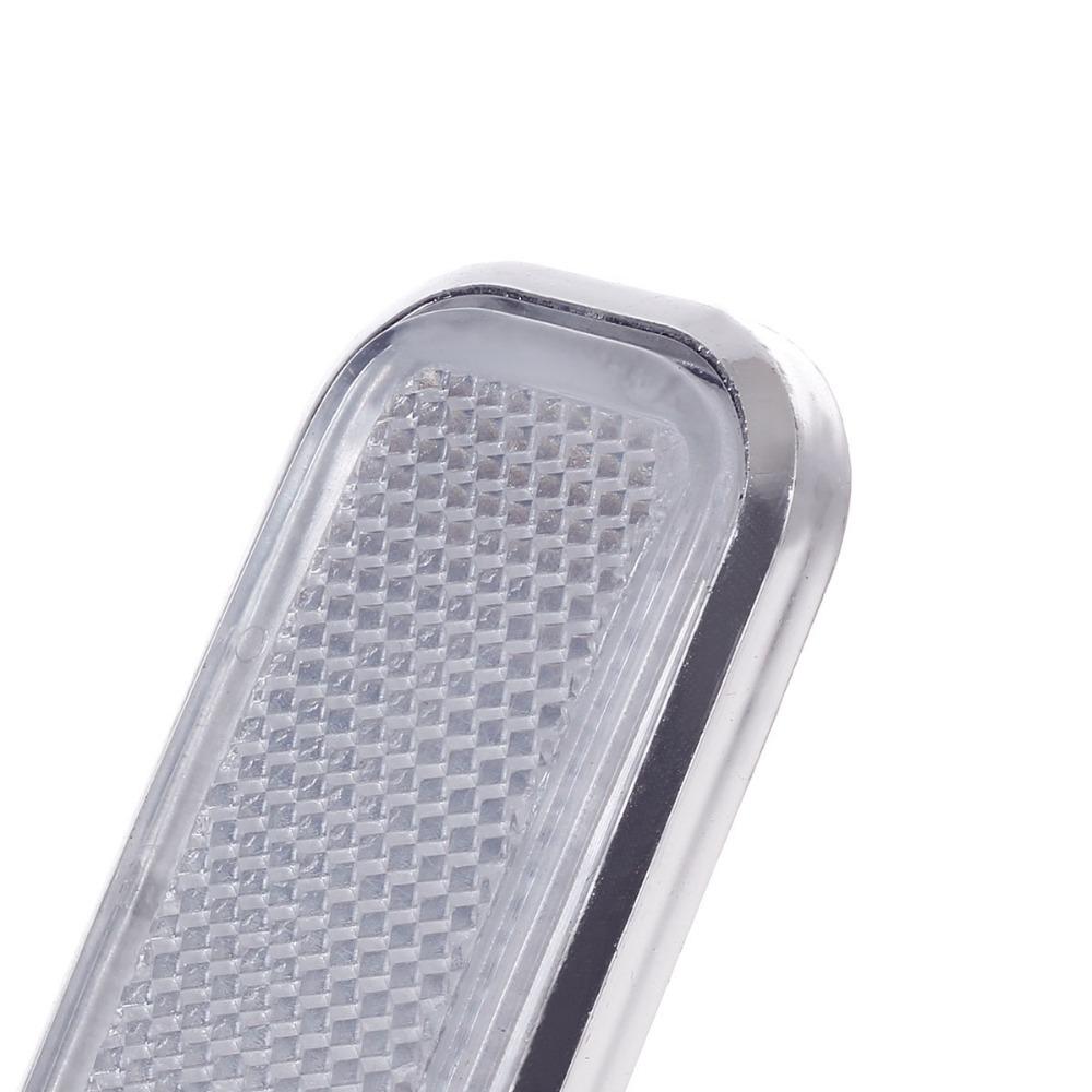 Горячая распродажа пластиковые автомобилей отражающие наклейки , ленты для автомобилей дорожная безопасность - белый ( 4 шт. ) бесплатная доставка P50