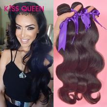 queen hair products brazilian body wave 3 pcs lot free shipping brazilian hair weave bundles human hair weave wavy no tangle