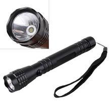LED 2 AA 3W Bright Camping Flashlight Torch Light Lamp Hand Strap #9405(China (Mainland))