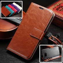 S7Case Luxury Retro Leather Wallet Flip Cover Case For Samsung Galaxy S7 /  S7 Edge / S7 Plus Photo Frame Stand Samsung S7 Case(China (Mainland))