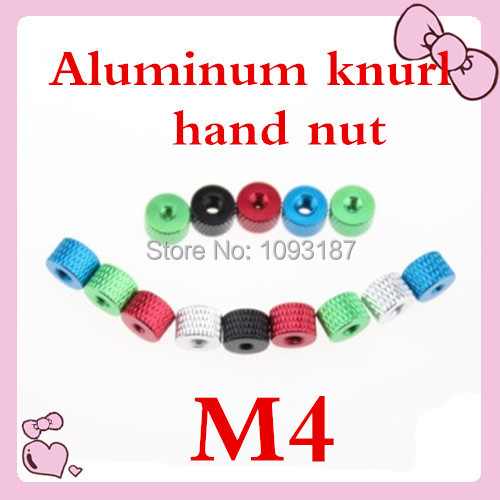 20pcs/lot High Quality M3  Aluminum Alloy Knurled Hand Nut<br><br>Aliexpress