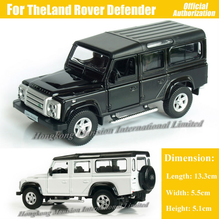 1:36 Scale Diecast Alloy Metal Luxury SUV Car Model For TheLand Rover Defender Jeep Collection Model Pull Back Toys Car(China (Mainland))
