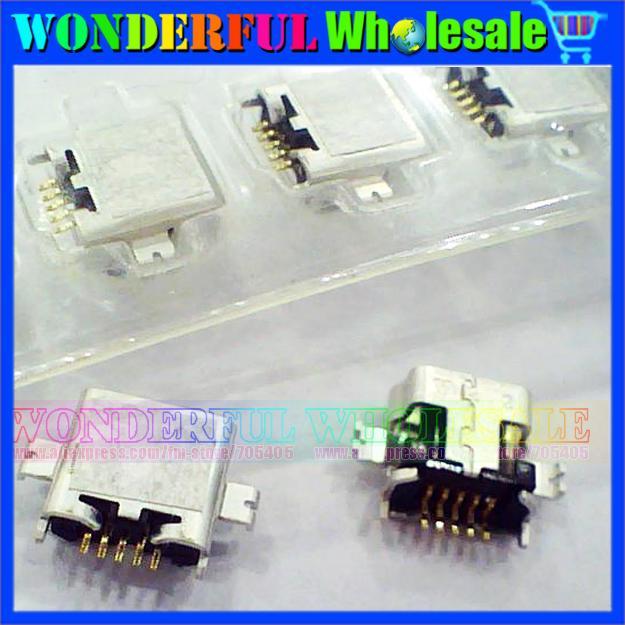 Original New 5p 5pin Mobile phone USB connector plug socket for BlackBerry 8800 8820 8830 8820u(China (Mainland))