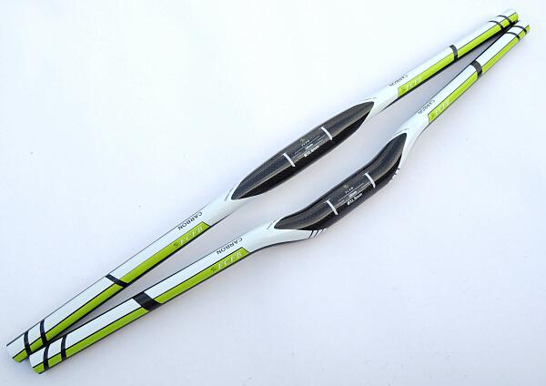 spcial FCFB FW mountain handlebar flat bar rise bar green bar size 600-720mm bike parts carbon parts cycling accessories(China (Mainland))