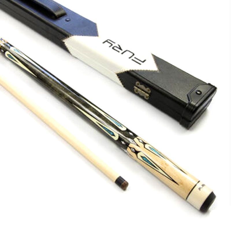 New Arrival Fury Pool Cues Stick 13mm/11.75mm Tips With Billiard Pool Cues Case Set China(China (Mainland))