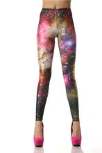 Nadanbao Women leggins 3D  Digital Van Gogh Starry Night Galaxy Print Women Leggings    KDK1019(China (Mainland))