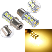 20X 1156 BA15S P21W 27 SMD 5050 LED White Warm White Car Auto Light Source Turn