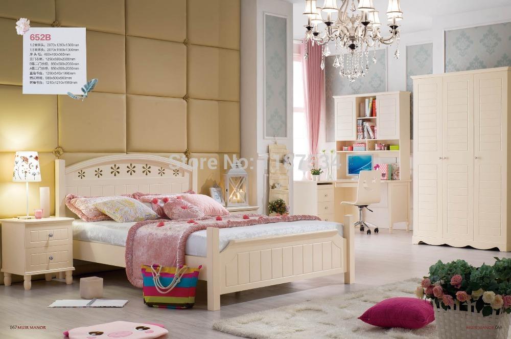 652b home furniture bedroom furniture princess bed wooden for B m bedroom furniture