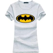 Buy 2017 summer Batman letter print Women t-shirt funny Cartoon Cotton tee shirt femme karajuku fashion brand Kawaii punk slim tops for $4.49 in AliExpress store