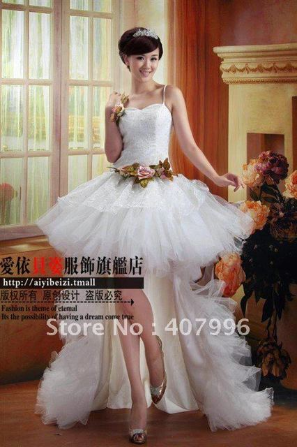 Hot!! ,free shipping, demountable type trailing,Ball Gown/ Wedding Dress/evening dress