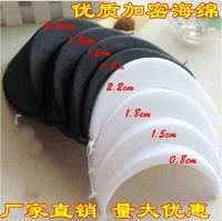 Garment shoulder pads accessories shirts shoulder sponge pads overcoat shoulder pads small suit Sponge cloth