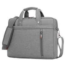 Buy 17 Inch big size Nylon Computer Laptop Solid Notebook Tablet Bag Bags Case Messenger Shoulder unisex men women Durable Gray for $19.75 in AliExpress store