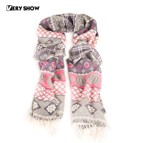 Very show wool silky women's long romantic petty bourgeoisie design scarf 13