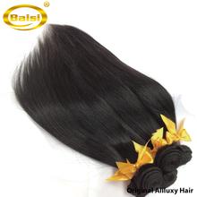 "Top-rated Unprocessed Virgin hair Free shipping, 8A GRADE Peruvian hair 3pcs/lot,human hair extension straight, color1b# , 8-28""(China (Mainland))"