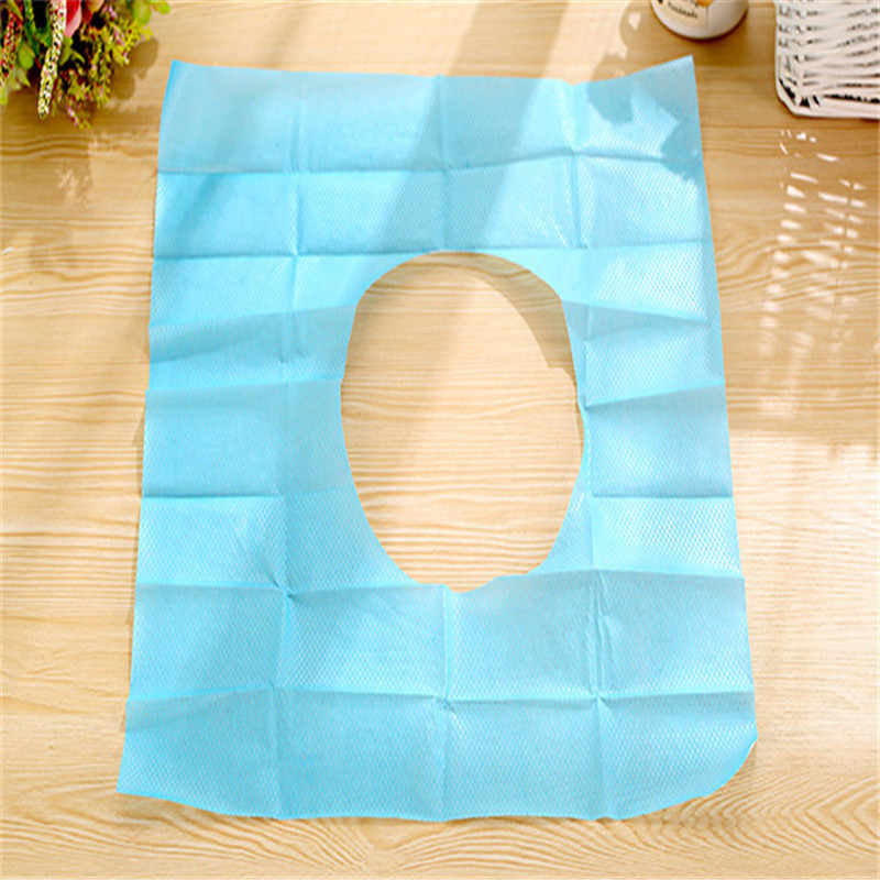 DHL Freeshipping 100pcs Disposable Toilet Seat Lid Covers Paper WC Banheiro Accessories(China (Mainland))