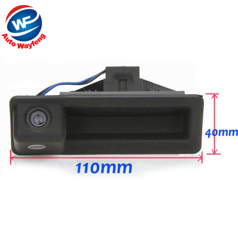 Backup Rear View Rearview Parking Camera Night Vision Car Reverse Camera Fit For BMW 3 Series 5 Series X5 X6 X1 E60 E61 E70 E71(China (Mainland))