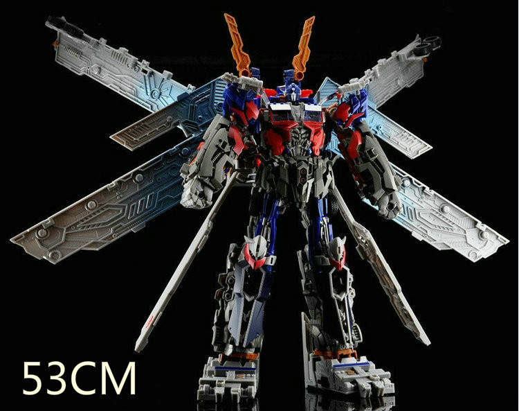KO High quality ABS Ultimate 53cm Deformation Robot Optimus Prime Action figures Robots Toys without Original Box(China (Mainland))
