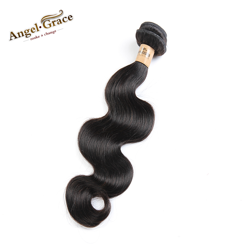 1PC Peruvian virgin hair body wave remy human hair extensions, Peruvian body wave hair weave cheap natural black beauty hair