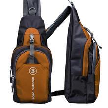 AAKT Brand Unisex Chest Back Pack Outdoor Hiking Sport Bag Women Men Crossbody Shoulder Bag