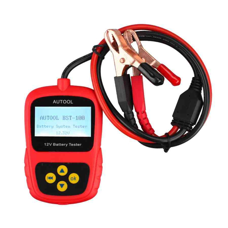 2015 Super Oringinal AUTOOL BST-100 BST100 Battery Tester with Portable Design Directly Detect Bad Cell Battery Free Shipping(China (Mainland))