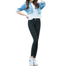 2016 Summer Autumn New Womens Casual Skinny Black/white Pencil Pants Leggings Fitness Women Ankle-length Leggins CQ0106(China (Mainland))