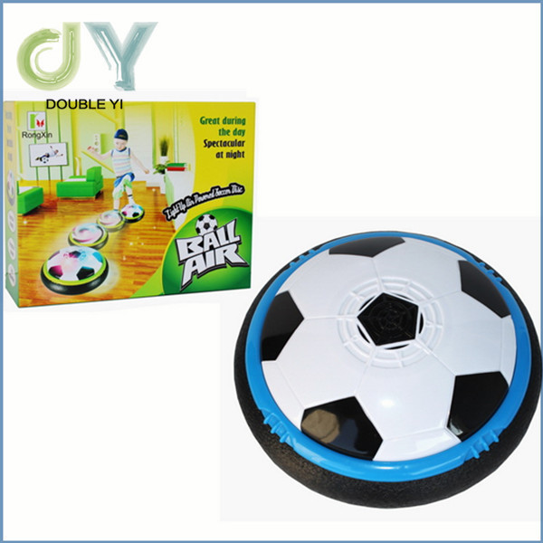 Manufacturer Electric universal with colorful lights indoor air cushion suspended football does not hurt the furniture toys(China (Mainland))