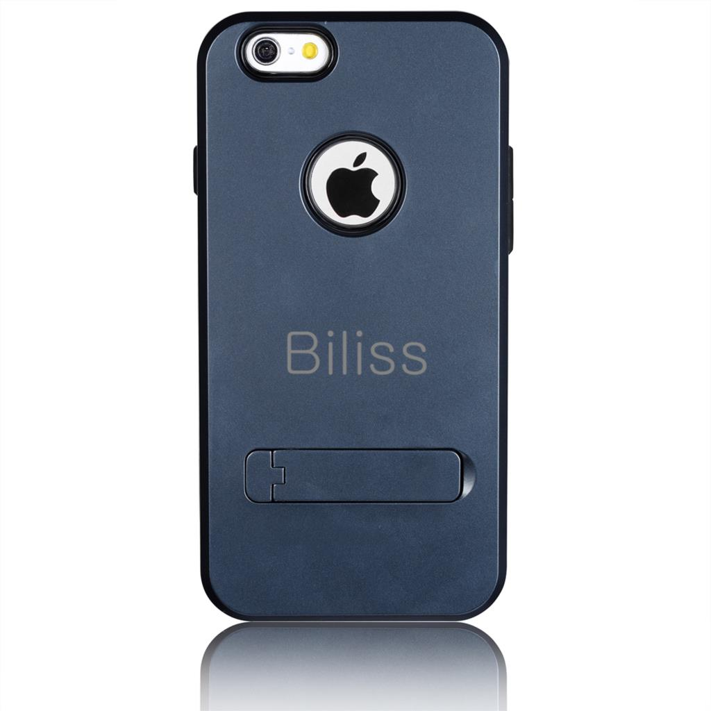 Hot Slim Tough Armor Case For Apple iPhone 6 4.7 inch Fashoion Cell Phone Bag Cases Hybrid Back Cover with Stand Logo Hole(China (Mainland))