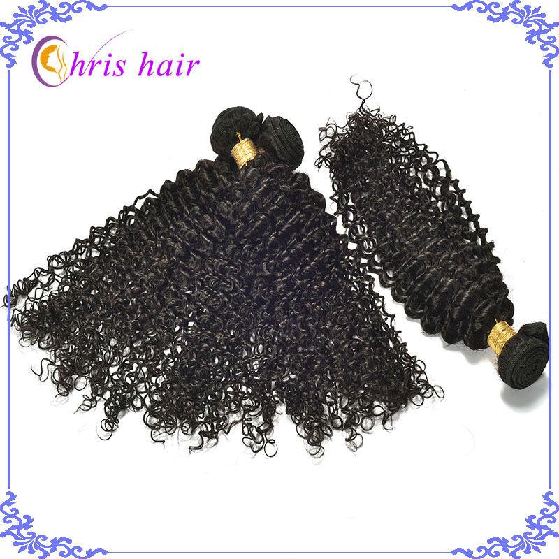 Cheap 7A Brazilian Virgin Hair Curly 3pcs lot Unprocessed Virgin Brazilian Curly Hair Weave Natural Black Brazilian Curly Hair(China (Mainland))