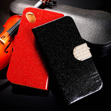 Buy PU Leather Bling Diamond Phone Case Cover Micromax Bolt D303 Wallet Stand Flip Case Glitter Holster Housing Shell Cover Bags for $3.38 in AliExpress store