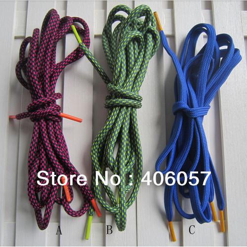 Free shipping sports shoelace with custom logo aglets(China (Mainland))