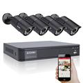 ZOSI 8CH 720P CCTV System Waterproof Video Recorder 4PCS 1200TVL HD 1 0MP Home Security Camera