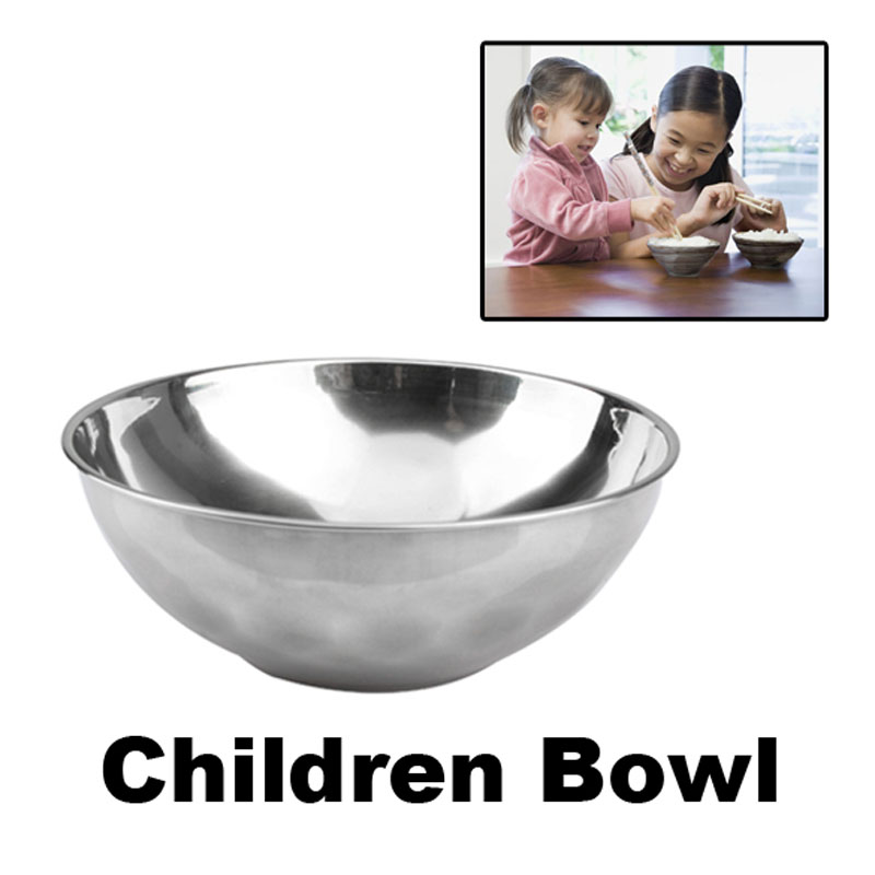 Stainless Bowl Japan Style Noodles Bowl Stainless Steel Cutlery Rice Soup Cup 11*3.3cm Cooking Tools(China (Mainland))