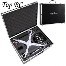 Syma X5 X5C X5SW Drone RC Quadcopter Drone Parts Aluminum Case Portable Protective Carrying Box for Helicopter High Quality