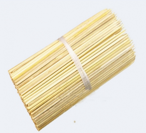 Bamboo Wooden BBQ Party Skewers Disposable Sticks BBQ Tools Picnic Barbecue Natural Bamboo Skewers Barbecue Stickers 300Pcs/Lot