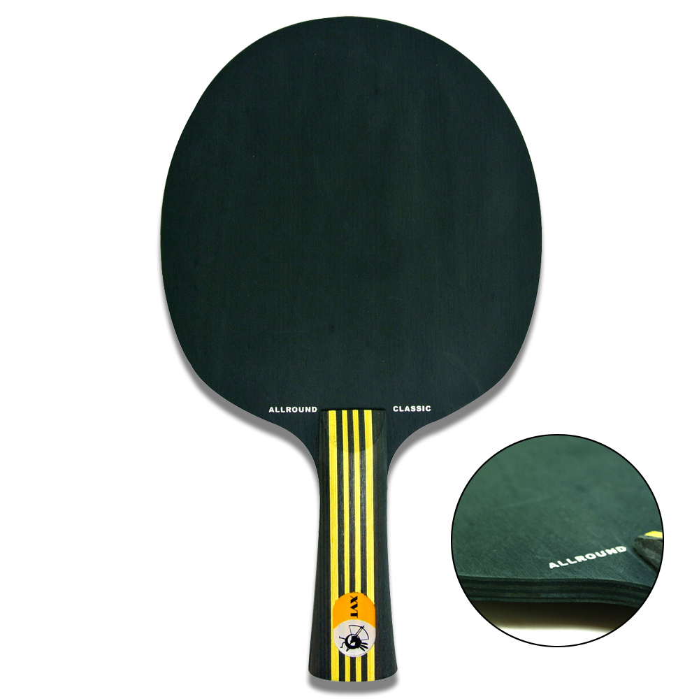 New Arrical XVT Allround Classic 7 ply BLACK WOOD Table Tennis Blade/ ping pong blade/ table tennis bat(China (Mainland))