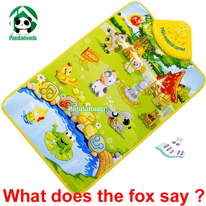 2014 Baby Toy Play Mat / Learning & Education Farm Animal Voice Musical Carpet - Pandadomik store