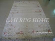 Free shipping 1.75X2.7M 160Line Hand-knotted Persian Rug, Persian Carpet, wool field and silk flower, silk walf(China (Mainland))