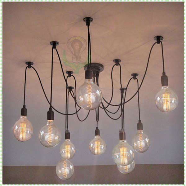 Classical loft light bulb hanging lights wholesale free shipping vintage edison bulb pendant - Eigentijdse hangerlamp ...