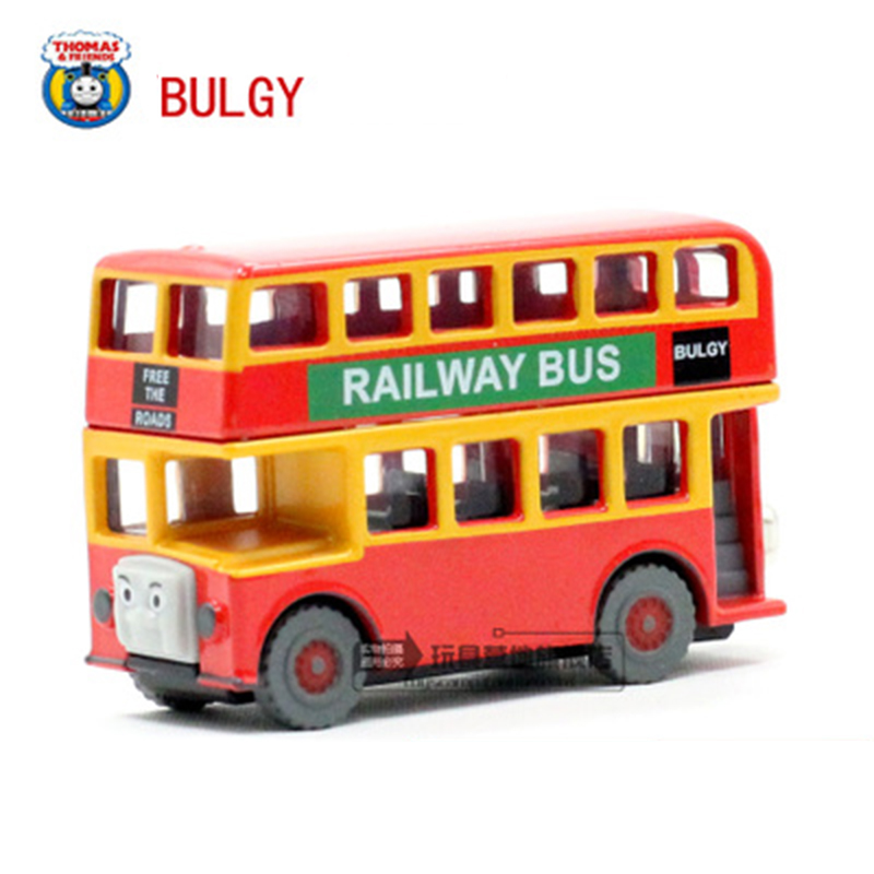 THOMAS & Friends Bulgy Diecast Magnetic Locomotive only The Tank Engine take along train metal children kids toy gift(China (Mainland))