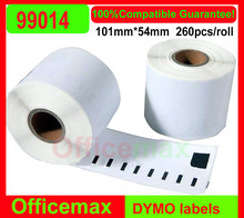 Hot Sale Limited Adhesive Sticker Accept Shipping Labels Dymo Compatible Standard Address Label (99014)