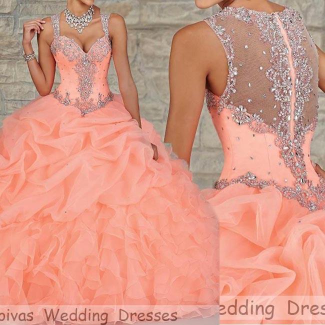 2015 coral sweet sixteen dresses elegant modern quinceanera dresses
