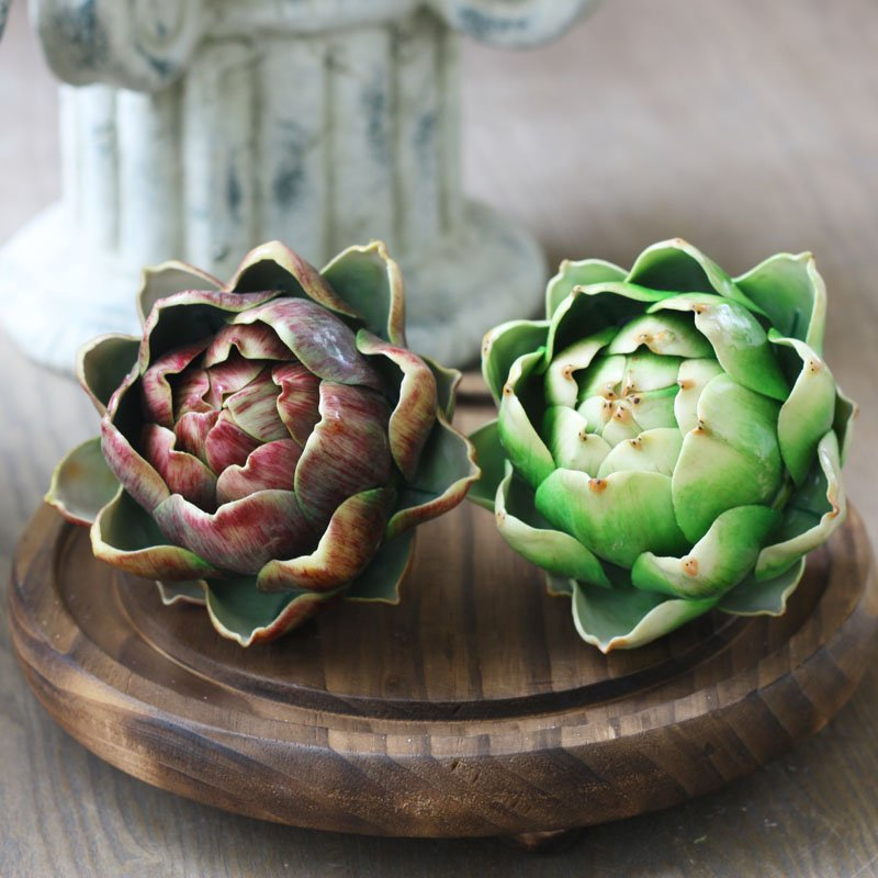 Buy artichoke artificial succulents for Artichoke decoration