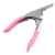 Pink Stainless Steel Nail Art Tips Edge Clipper False Nail Cutter Tools  Dropshipping Support  SKU:F0056