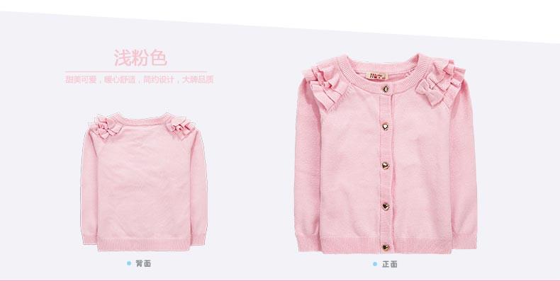 Скидки на Новорожденных девочек вязаный кардиган дети свитер детская одежда одежда детская sweate кардиган девушка детская одежда пальто